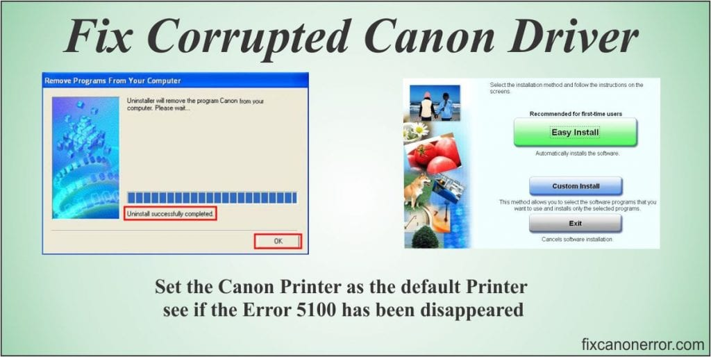 fix canon driver problem