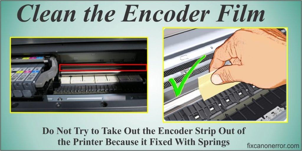clean encoder film