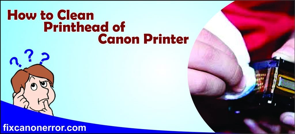 clean canon printhead