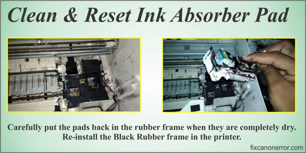 clean ink absorber