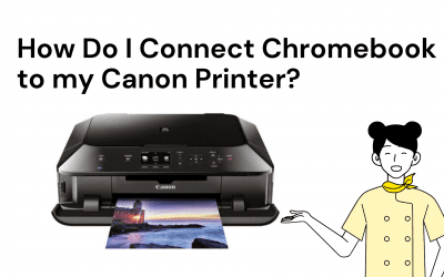 How do I connect Chromebook to my canon printer?