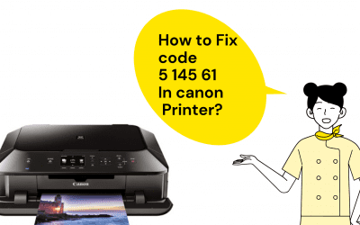 How to fix canon scanner error code 5 156 61?