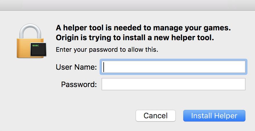 install mac helper
