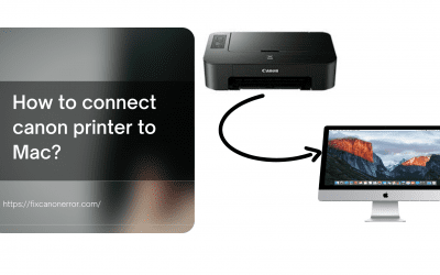 How to connect canon printer to Mac?