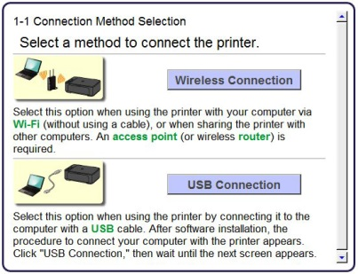 connect canon with mac