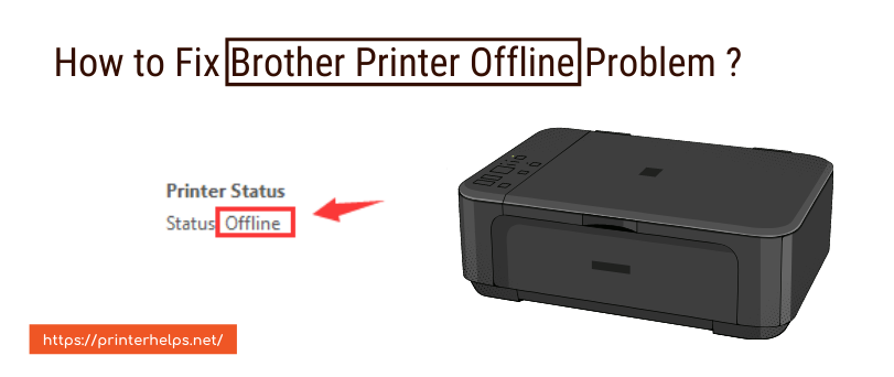 How to Fix Brother Printer Offline Problem ?